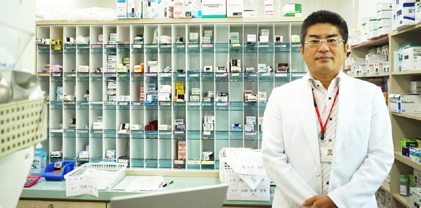 地域に根差した、通いやすい薬局、安心して頼れる薬局を目指して